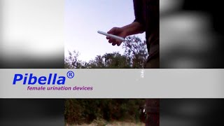 The easy female urination device PIBELLA for all women