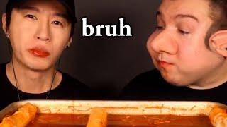 Nikocado Avocado annoying Zach Choi for 2 minutes - PART 2