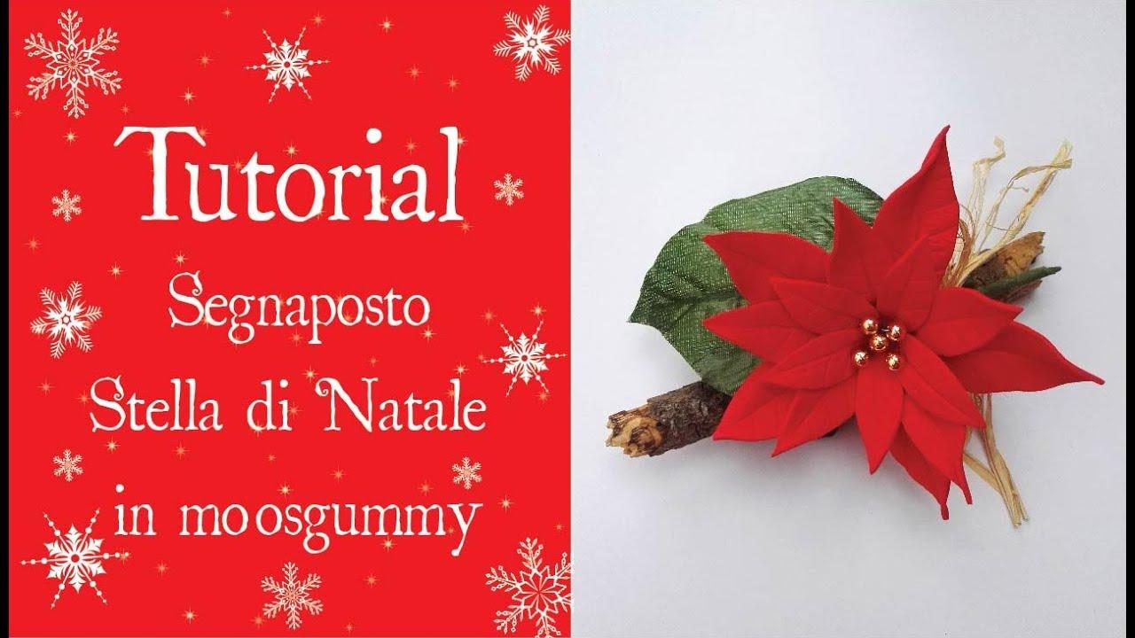 Stella Di Natale Cartamodello.Tutorial Segnaposto Stella Di Natale In Moosgummy