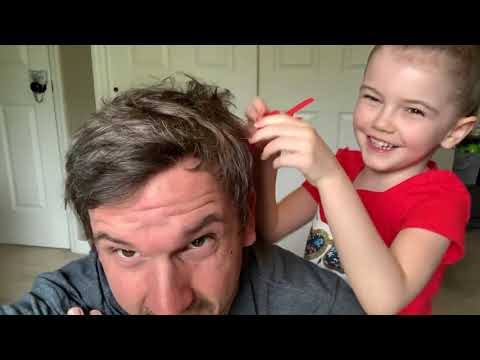 """Remy's Daughter """"Cuts"""" his hair - Mason & Remy Corona Vlog (Day 34)"""