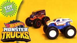 Hot Wheels Monster Trucks - Die Cast Car Review