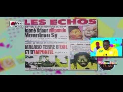 Revue de Presse - Pr : MAMADOU MOUHAMED NDIAYE - 23 Janvier 2017 - TFM