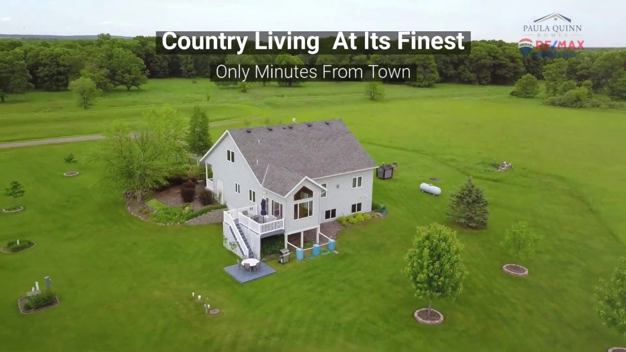 Just Listed 4 Bedroom 3.5 Bath on 40 Acres Little Falls