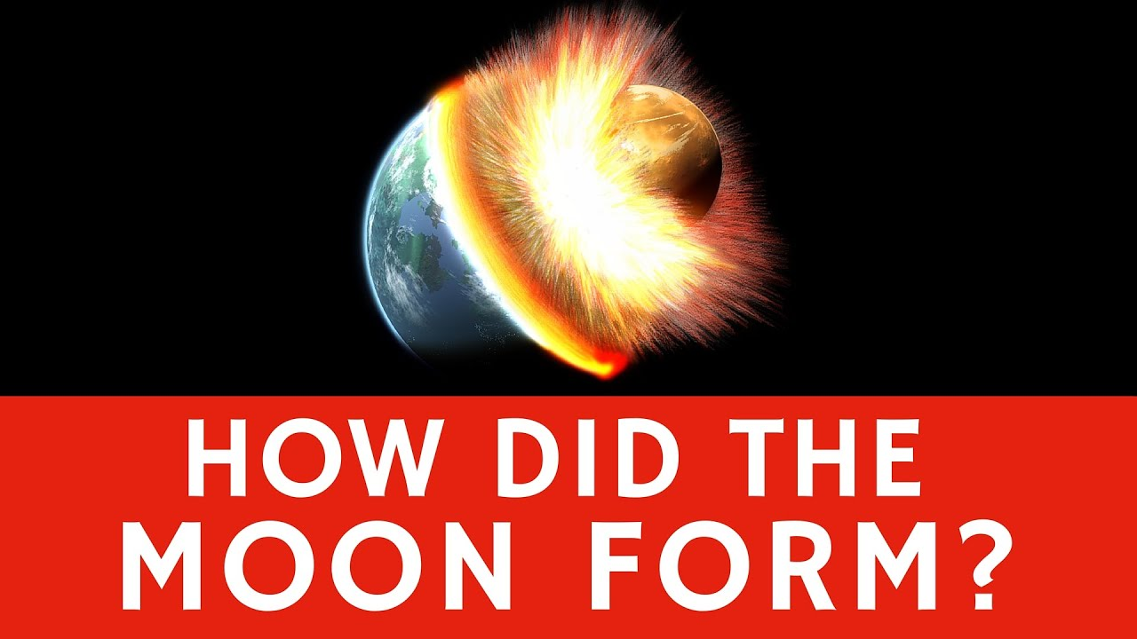 How was the Moon formed? - Quick facts for Kids - YouTube