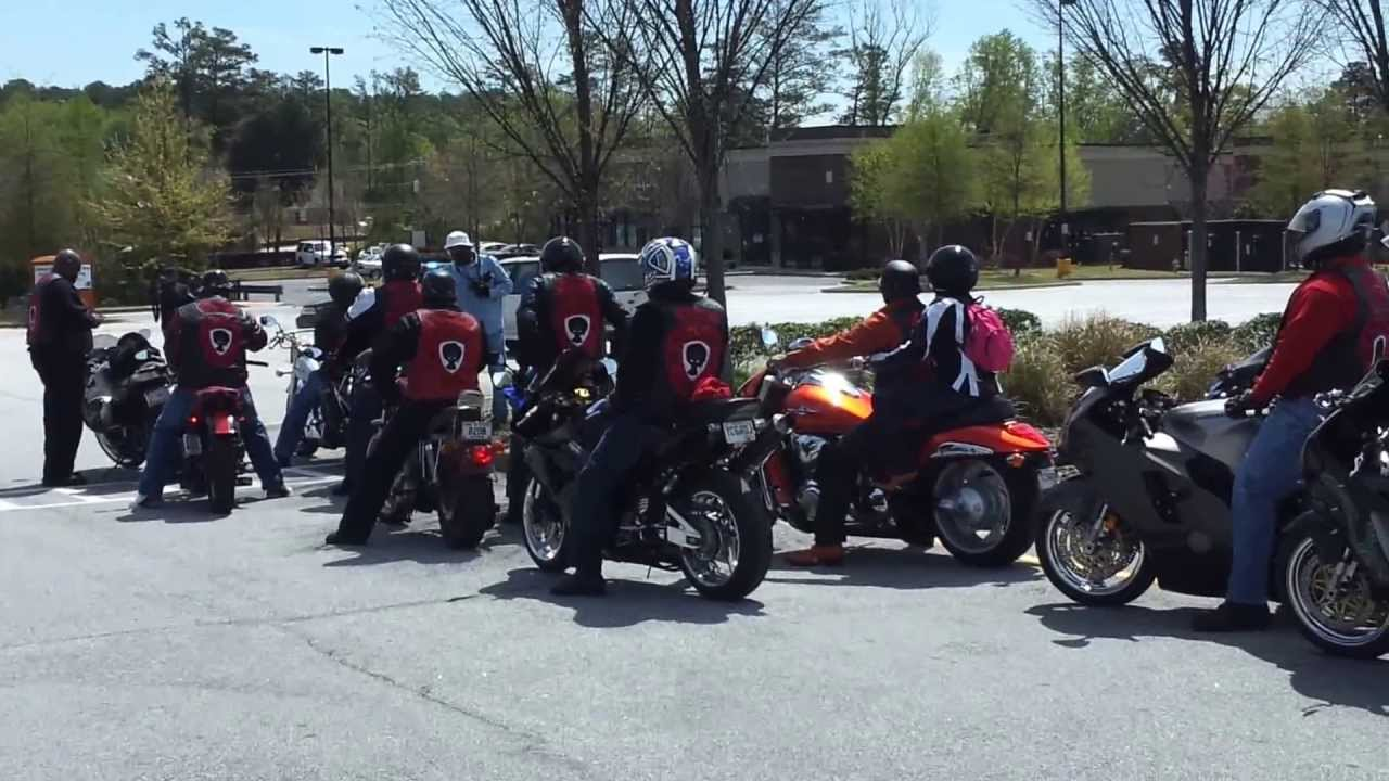 Zulu Motorcycle Club Charity Ride Part1 Youtube