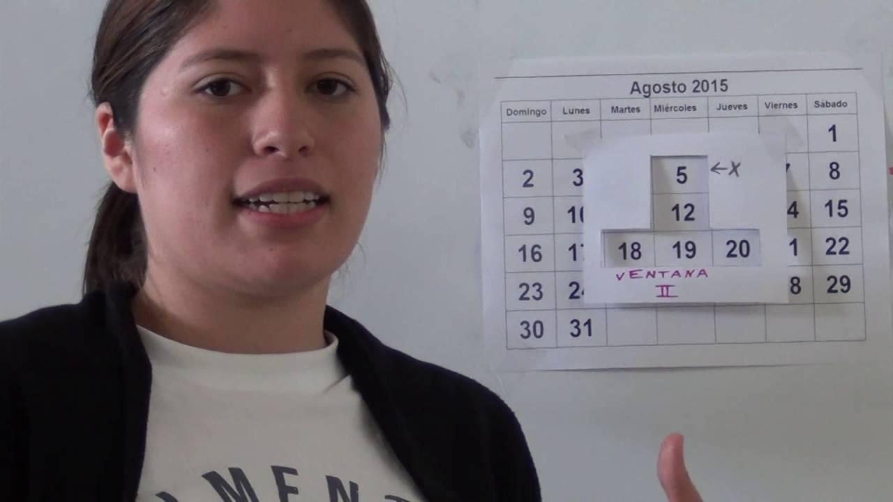 Las ventanas del calendario - Didáctica de la matemática