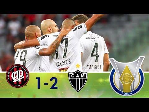 Melhores Momentos - Atlético-PR 1 x 2 Atlético-MG - Campeonato Brasileiro (13/05/2018)