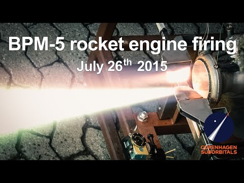 Static Rocket Motor Test - BPM-5