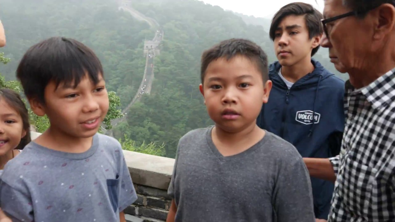 My trip in Mutianyu Great Wall & my first Video