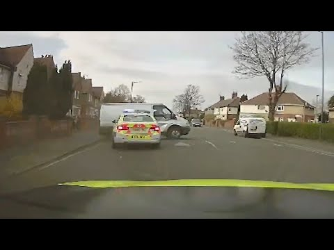 U.K. police used this manoeuvre to end a high-speed chase