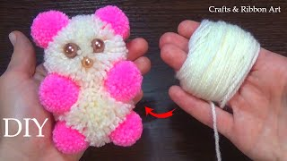 Download Amazing Teddy Bear Making Idea with Wool - Super Easy Teddy Make at Home - How to Make Teddy Bear