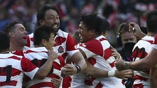 Japan swept up in rugby fever