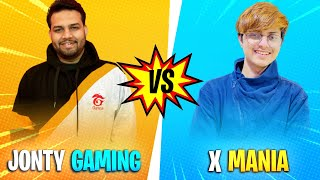 GRENADE VS WITH @X-MANIA - 🤣🤣 FUNNY VIDEO 🤣🤣 - #JONTYGAMING - GARENA FREEFIRE BATTLEGROUND
