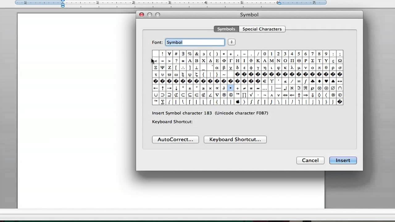 How to Make Chemistry Symbols in Microsoft Word : Microsoft Word Help
