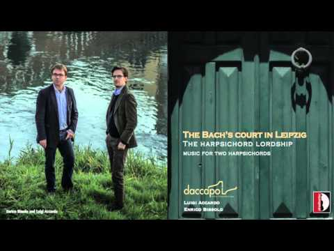 Daccapo - Italian Harpsichord Duo - The Bach's Court in Leipzig
