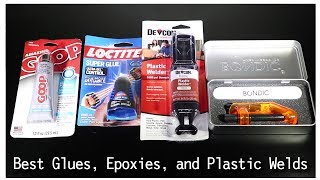 Best Glues, Epoxies, and Plastic Welds for 3D Printing - Part 1