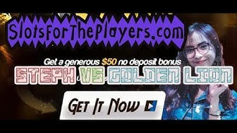 🎰 GOLDEN LION casino walkthrough 🎰 $279 slot win from $25 bonus #SlotsForThePlayers