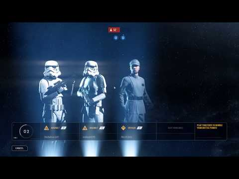 Star Wars Battlefront II - Galactic Assault Death Star II Imperial Gameplay