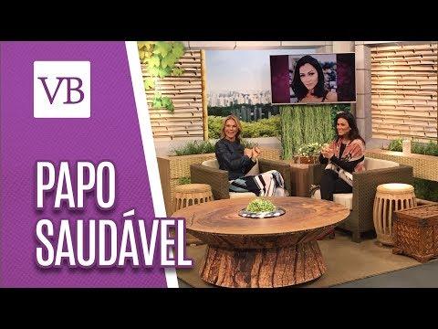 Papo saudável: Suzana Alves - Você Bonita (10/08/18)