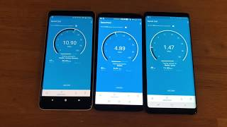 Verizon vs T-Mobile vs Sprint Late 2017