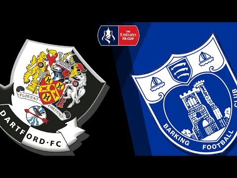 FA Cup Second Qualifying Round:  Dartford v Barking 16/09/17