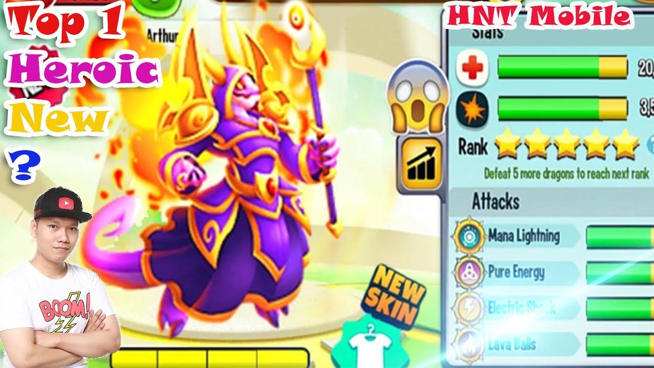 Top 1 Dragon City High Arcane Dragon Vip Cuộc Đua Heroic Heroic 3 Sao Nông Trại Rồng Dragon City HNT