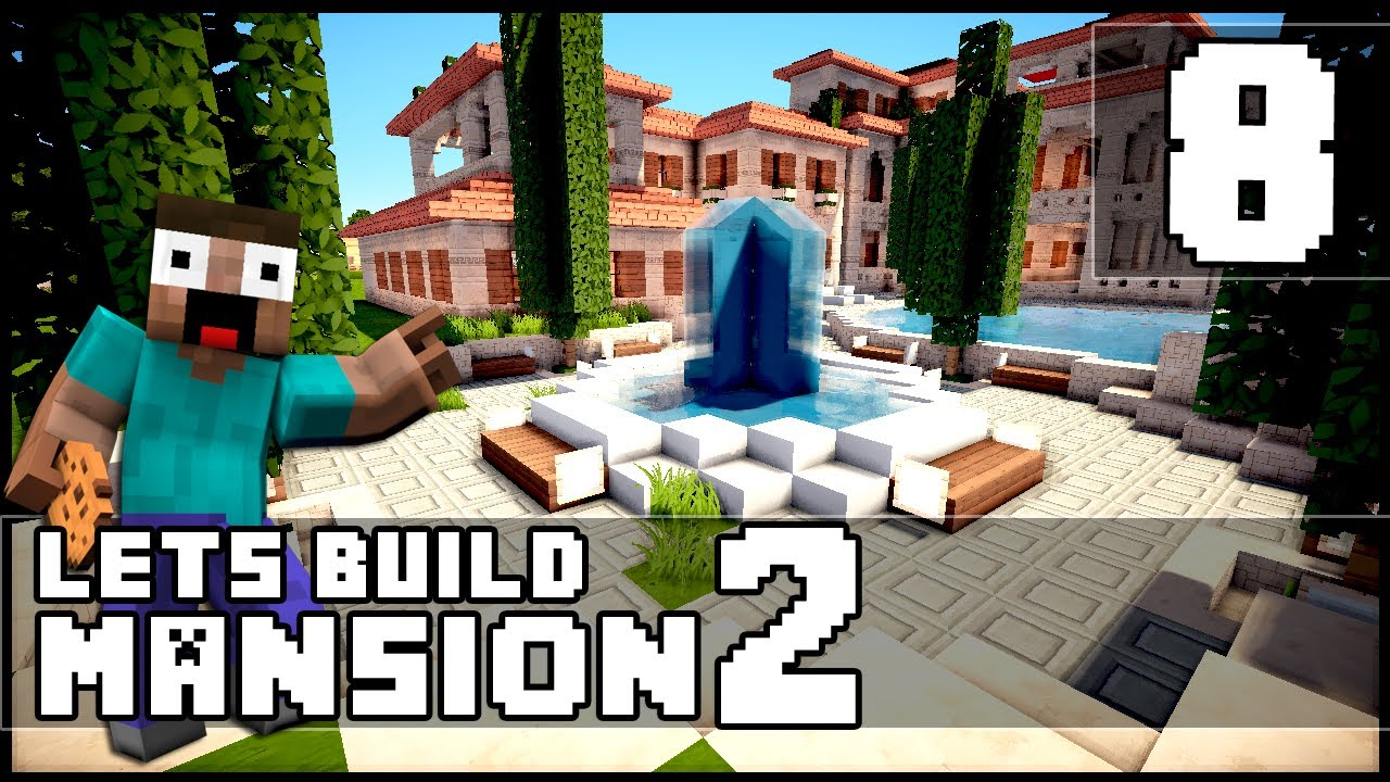 minecraft how to make a mansion part 8 youtube. Black Bedroom Furniture Sets. Home Design Ideas