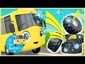 Buster's New Tires! | GoBuster Official | Nursery Rhymes |  ABCs and 123s | Kids Videos