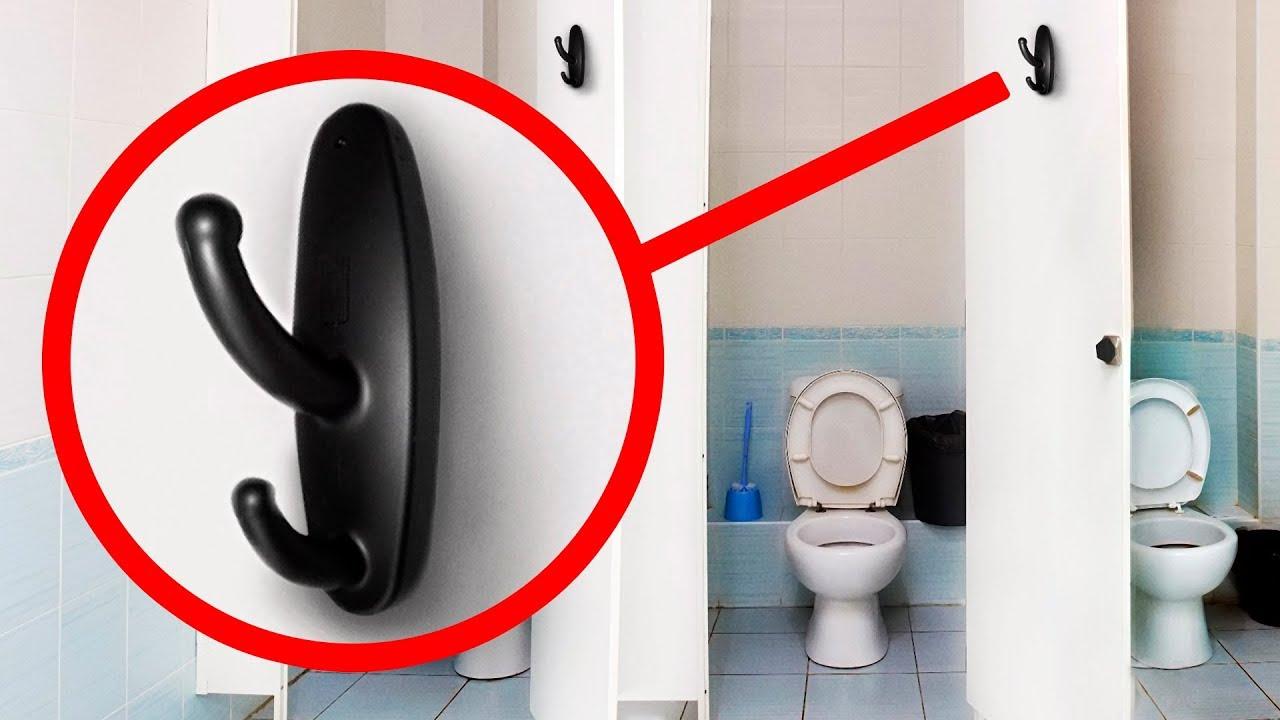 Se Você Vir Isso em um Banheiro Público, Ligue Para a Polícia Imediatamente!