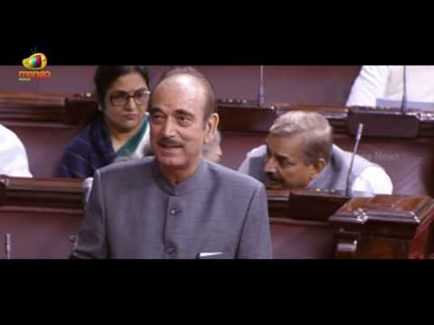 Be Just, Non-Partisan, LoP Ghulam Nabi Azad Tells M Venkaiah Naidu In Welcome Speech | Mango News