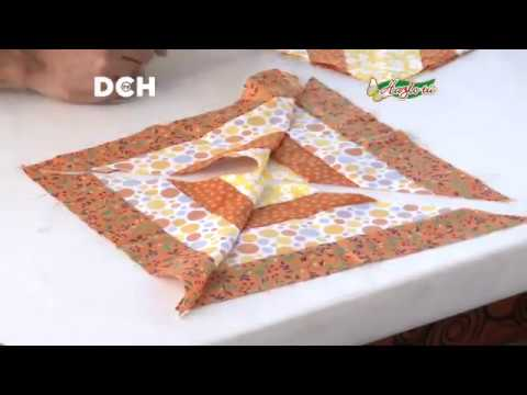 Almohadòn patchwork