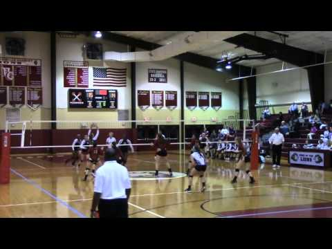 SESA Volleyball Prospect 2015 - Alli Johnson, Hebron Christian Academy