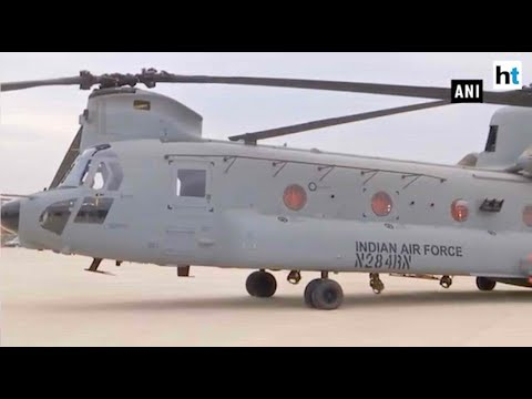 Indian Air Force inducts first unit of Chinook helicopters in Chandigarh