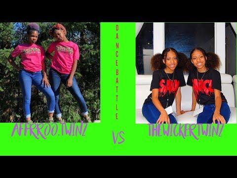 THEWICKERTWINZ VS AFFRROO.TWINZ || DANCE BATTLE || #twins #dancebattle #goals