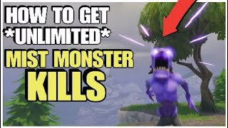 How To Kill Unlimited Mist Monsters | NEW TIPS | Fortnite Save The World