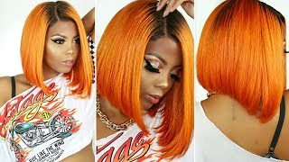 🔥HOW TO DYE HAIR IN 10 MINUTES |TRYING WATERCOLOR HAIR DYE METHOD ON #613 HAIR |RIRI HAIR| TASTEPINK