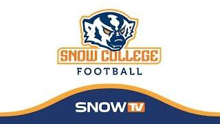 Snow College Football Snow Vs. Trinity Valley CC 8 25 2018