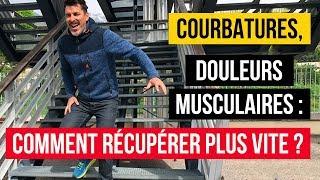 🚴 Courbatures, DOULEURS musculaires : Comment récupérer PLUS VITE ?