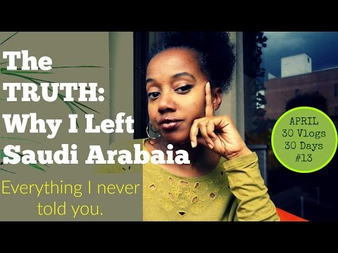 The Truth: Why I Left Saudi Arabia | Part 1