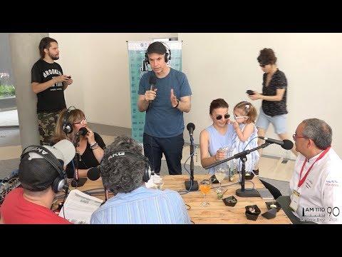 "<h3 class=""list-group-item-title"">Horacio Rodríguez Larreta con Silvana Amato en la Villa Olímpica</h3>"