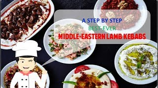 BEST-EVER MIDDLE EASTERN LAMB KEBABS