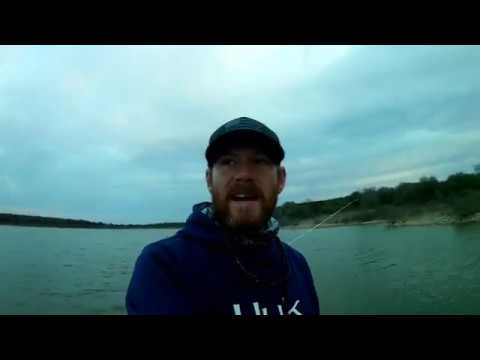 Lake Whitney Pre Spawn Bass Fishing
