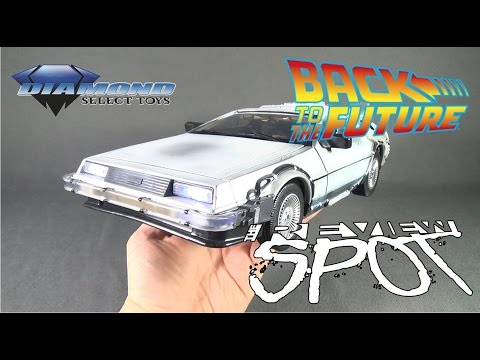 Collectible Spot - Diamond Select Back to the Future Part II 1/15th Scale Time Machine