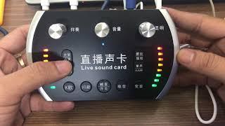 Xã giá rẻ bộ soundcard IS8 - micro Bm900 giá cực rẻ số lượng có hạn