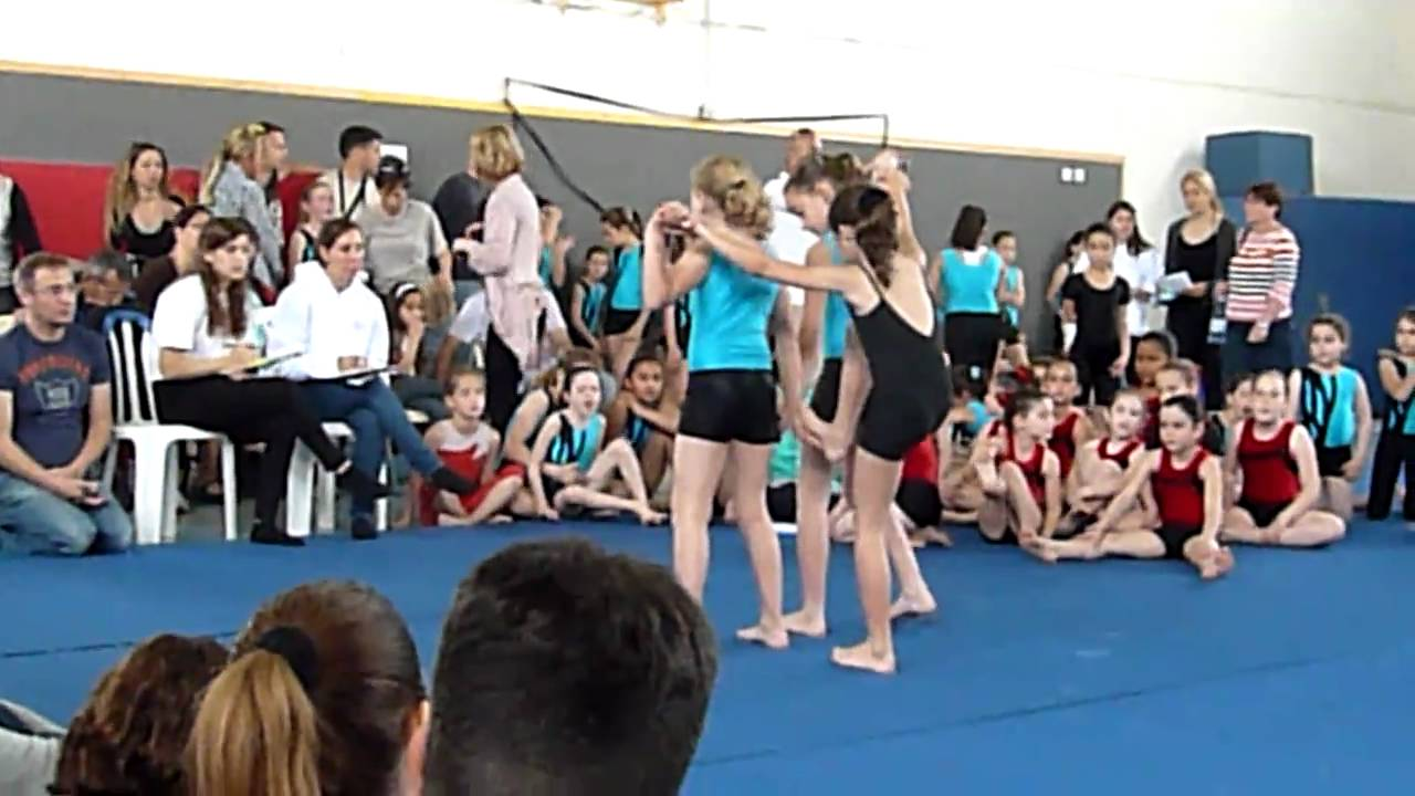 Mika in Acro Gymnastic 2011, pyramid