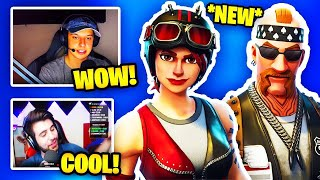 Streamers React To New Biker Skins | Fortnite Battle Royale