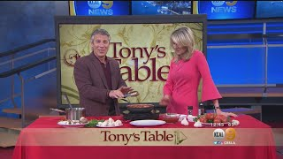 Tony's Table: Pasta And Mushrooms