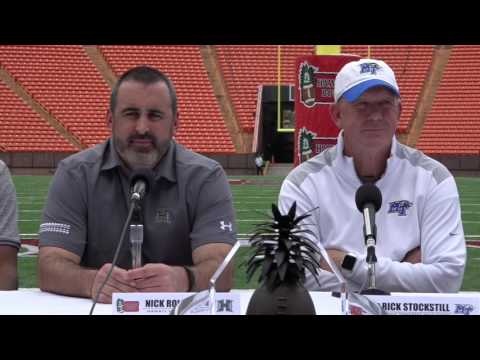2016 Hawaii Bowl Kickoff Press Conference