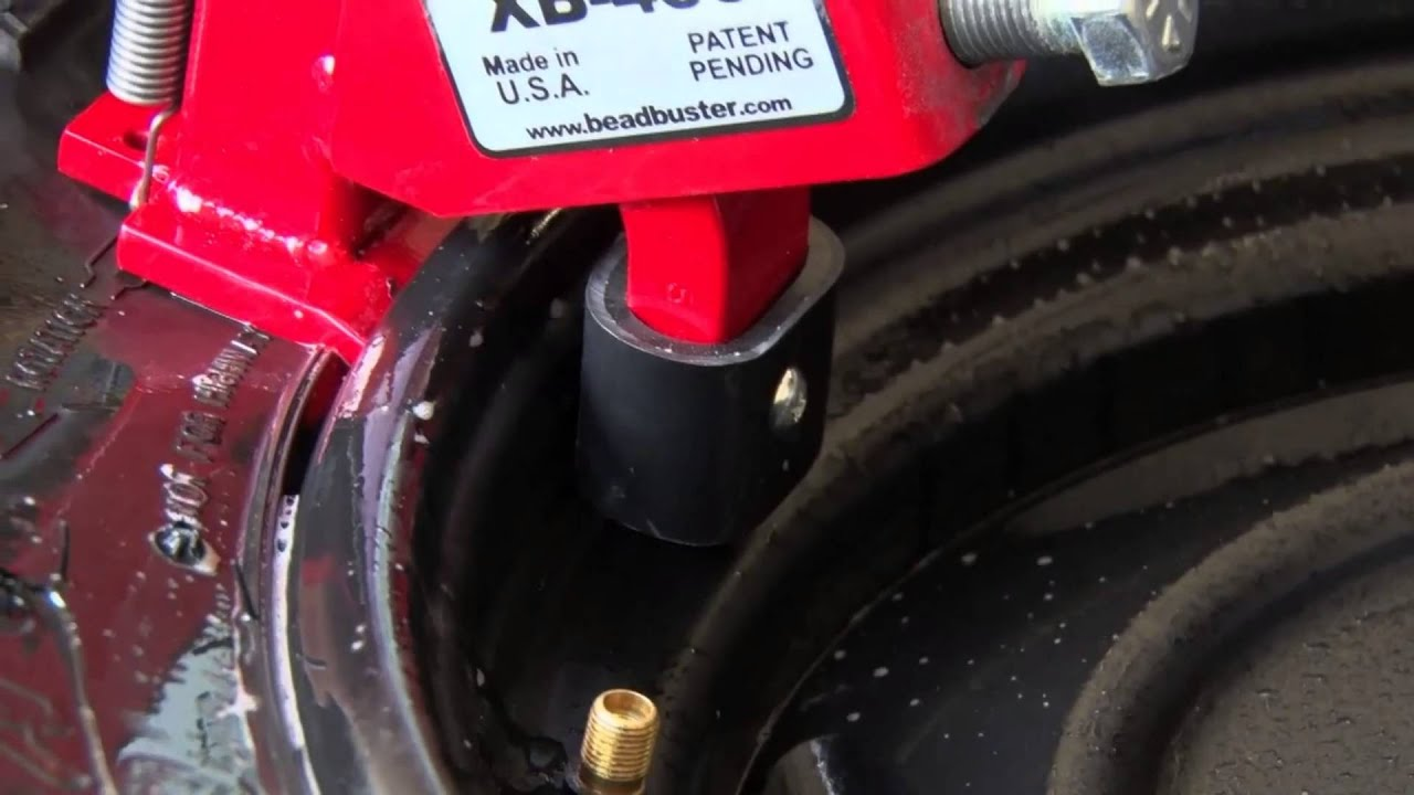 BeadBuster: Easily Change Your Tires Anywhere! Bead Breaker