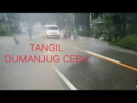 Tangil Dumanjug Cebu Philippines Flash flood by Auring HD 2pm 09jan2017 v3